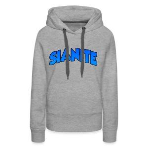 SIANITE SHIRT LOGO - Women's Premium Hoodie