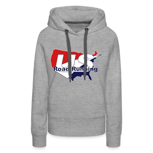 US Road Running Logo - Women's Premium Hoodie