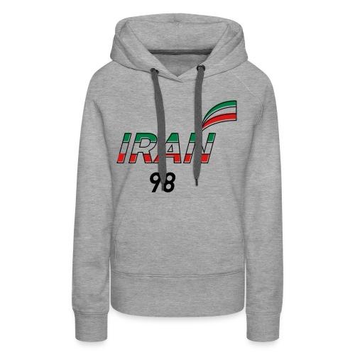 Iran's France 98 20th Anniversary Tee - Women's Premium Hoodie