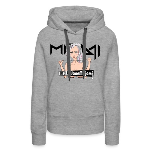 DJ Mirjami Cartoon Style #01 - Women's Premium Hoodie