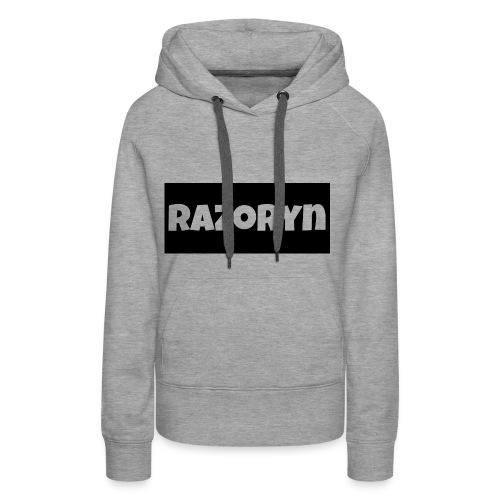 Razoryn Plain Shirt - Women's Premium Hoodie