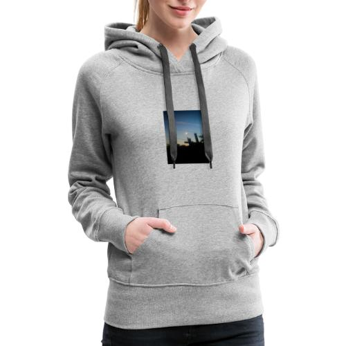 Pieced moon - Women's Premium Hoodie