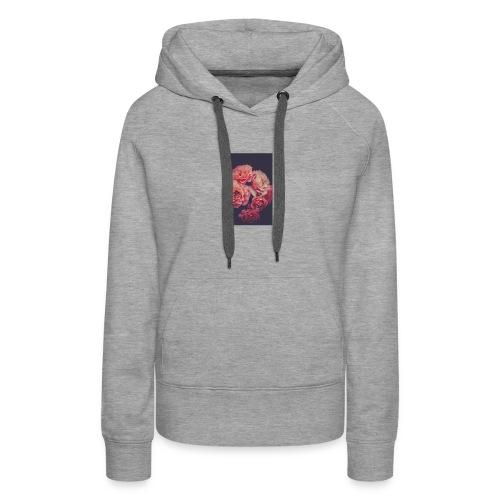 Flower love ❤️ - Women's Premium Hoodie