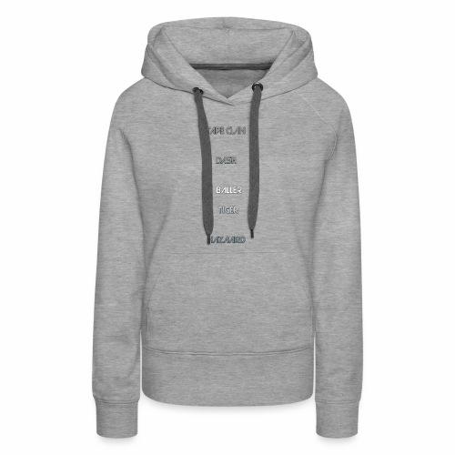TAAPE CLAN DESIGHNS - Women's Premium Hoodie