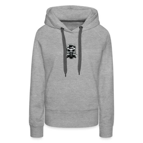 Gangstar Skull - Women's Premium Hoodie