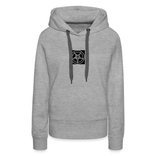 baphomet pentagram - Women's Premium Hoodie