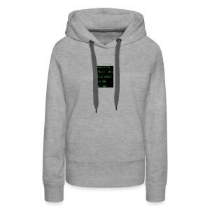 Quench your thirsty with JESUS - Women's Premium Hoodie