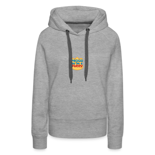 Proud to be a Furry! - Women's Premium Hoodie
