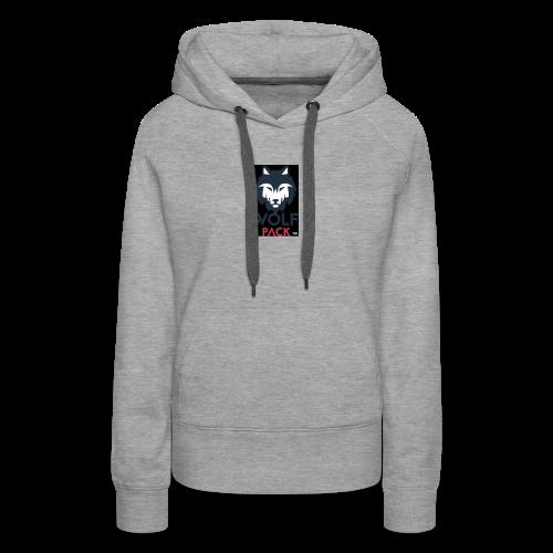 Wolf Pack Logo - Women's Premium Hoodie