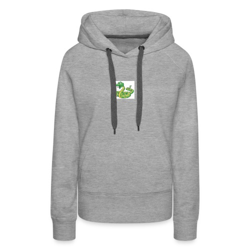 Cartoon snake - Women's Premium Hoodie