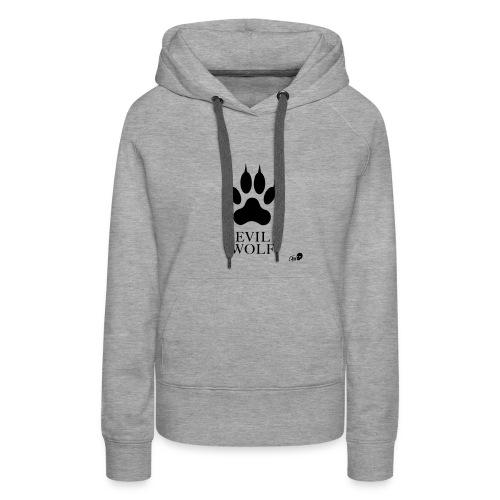 Der Evil Wolf - Women's Premium Hoodie