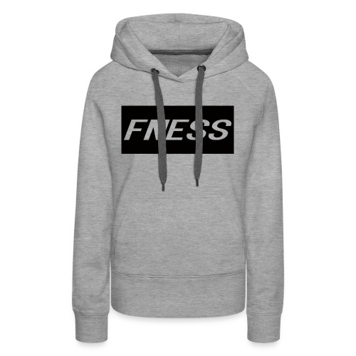 [FNESS] - Women's Premium Hoodie