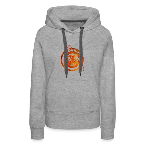 The howling of the wolf - Women's Premium Hoodie
