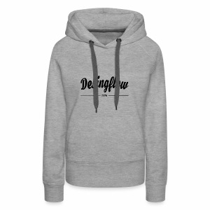 Going Back to the classic Shirt - Women's Premium Hoodie