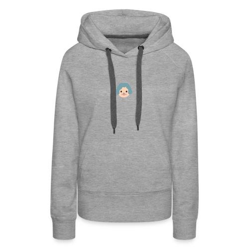 Grandma Emoticon Shirt - Women's Premium Hoodie
