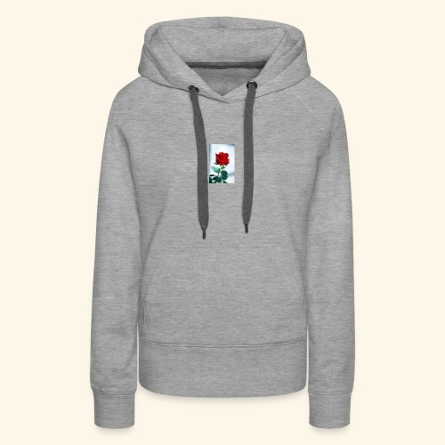 Kiss by a rose - Women's Premium Hoodie