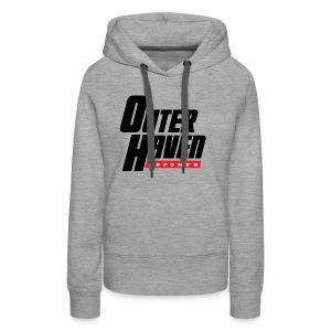 Outer Haven Black Large Logo - Women's Premium Hoodie
