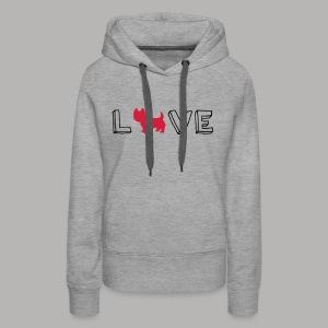 Westie Love - Women's Premium Hoodie