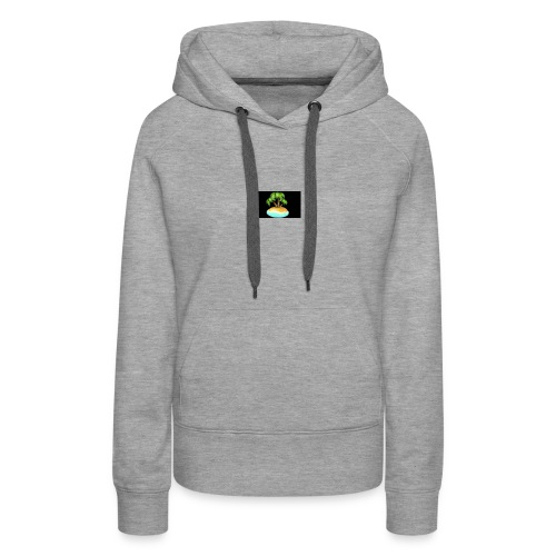 Black Island mojo logo - Women's Premium Hoodie