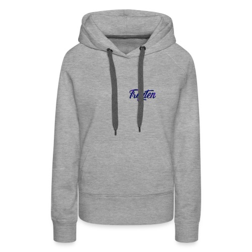 Treyten Simple Logo - Women's Premium Hoodie