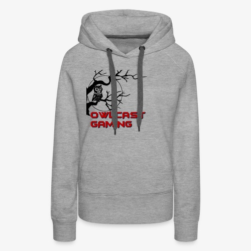 The Owlcast Merchandise - Women's Premium Hoodie
