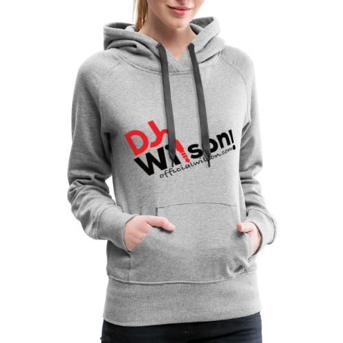 DJ Wilson Logo - Women's Premium Hoodie