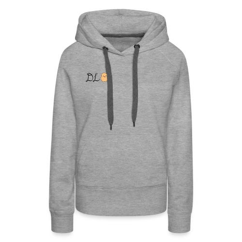 Black DL Potato - Women's Premium Hoodie