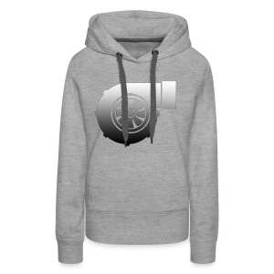 Turbo icon design - Women's Premium Hoodie
