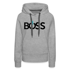 Boss Logo CMYK - Women's Premium Hoodie