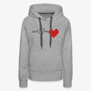 Heart Beat - Women's Premium Hoodie