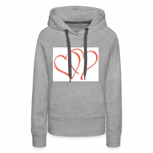 Double the Love - Women's Premium Hoodie