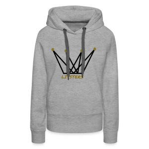 LITSTERS crown logo 1 - Women's Premium Hoodie