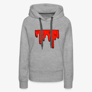dripping color - Women's Premium Hoodie