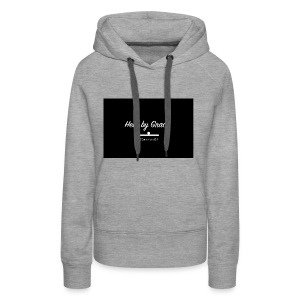 held by grace - Women's Premium Hoodie