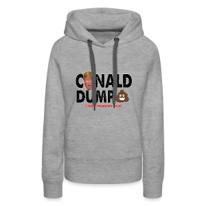 Conald Dump Worst President Ever - Women's Premium Hoodie