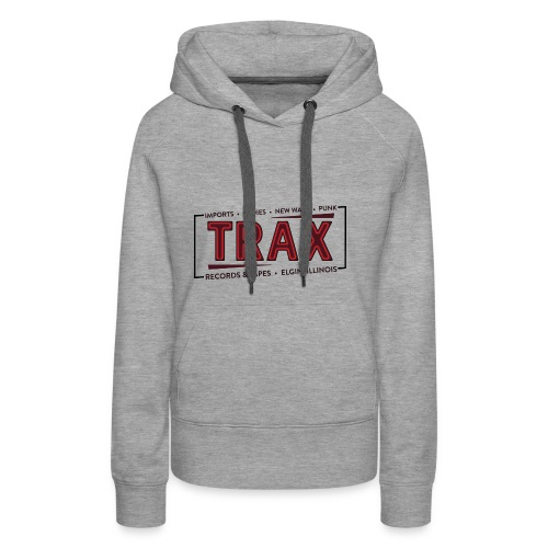 Trax Record Store -an homage to Pretty in Pink - Women's Premium Hoodie