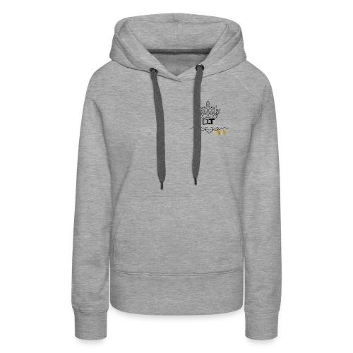 D T Logo - Women's Premium Hoodie