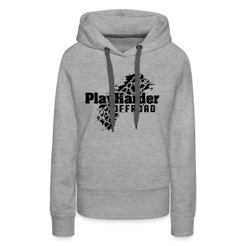 Black Logo - Women's Premium Hoodie