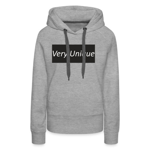 Very Unique - Women's Premium Hoodie