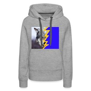 wolf 2 - Women's Premium Hoodie