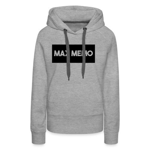 MaxMemo - Women's Premium Hoodie