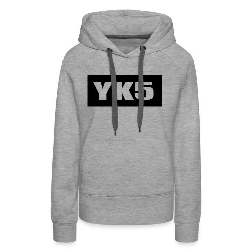 yk5shirtlogo - Women's Premium Hoodie