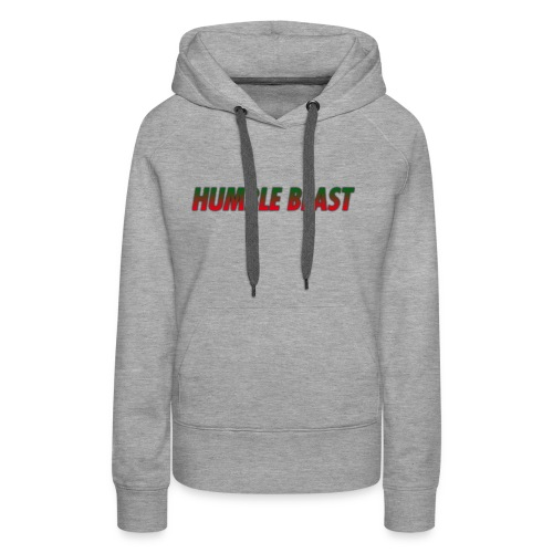 HUMBLE BEAST - Women's Premium Hoodie
