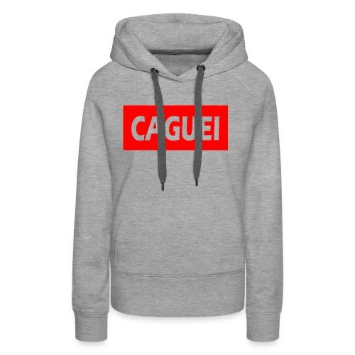 CAGUEI VERMELHO - Women's Premium Hoodie
