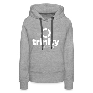Trinity Centered white - Women's Premium Hoodie