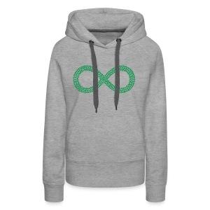 Marijuana Infinity California Love Hemp 420 Shirt - Women's Premium Hoodie