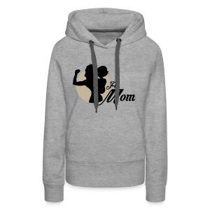 fit mom 2 - Women's Premium Hoodie