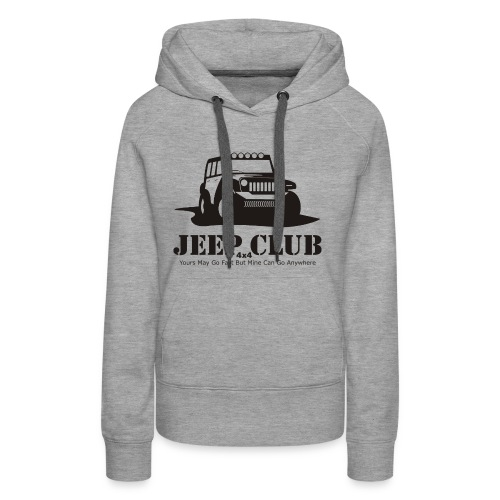 Jeep 4x4 CLub - Women's Premium Hoodie