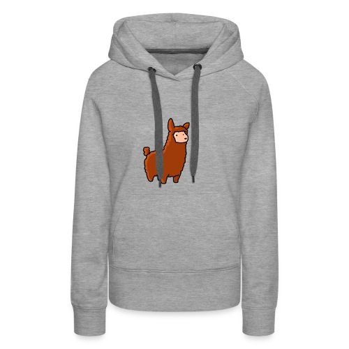 The lama - Women's Premium Hoodie