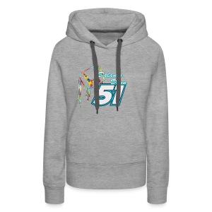 Dalaney Dunn Racing Logo - Women's Premium Hoodie